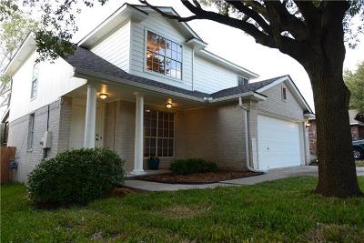 Round Rock Single Family Home For Sale: 3764 Top Rock Ln