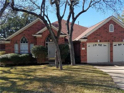Cedar Park Single Family Home For Sale: 1309 Roadrunner Dr