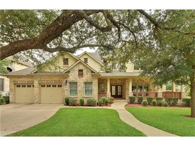 Round Rock Single Family Home For Sale: 1501 Lake Forest Cv