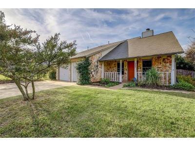Travis County, Williamson County Single Family Home For Sale: 12406 Sceptre Cv