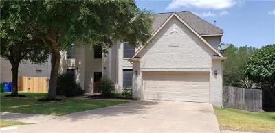 Cedar Park Single Family Home Pending - Taking Backups: 911 Savanna Ln