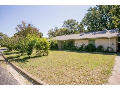 Travis County Single Family Home Pending - Taking Backups: 4903 Winding Trl
