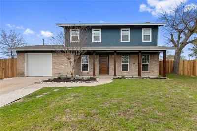Austin Single Family Home Pending - Taking Backups: 8608 E Delaware Ct W