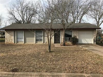Cedar Park Single Family Home Pending - Taking Backups: 3020 Great Valley Dr