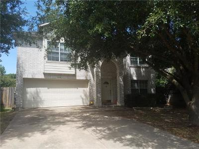 Round Rock Single Family Home Pending - Taking Backups: 1616 Balsam Way