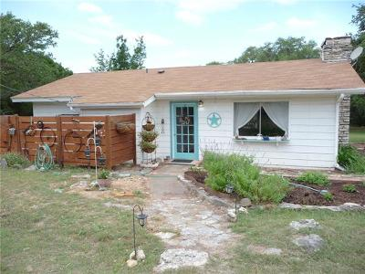 Wimberley Single Family Home For Sale: 2 Limestone Trl