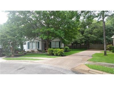 Round Rock Single Family Home For Sale: 1004 Chickory Ct