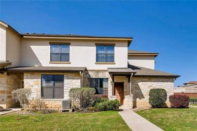 Round Rock Condo/Townhouse For Sale: 2101 Town Centre Dr #1407
