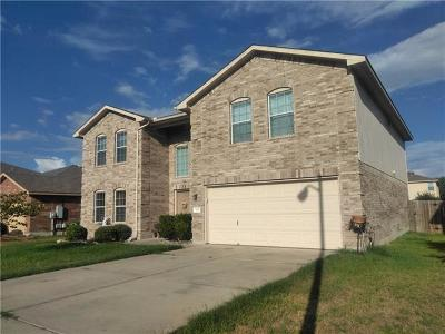 Hutto Single Family Home For Sale: 220 Holman Path