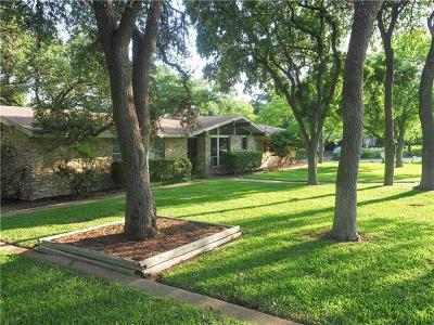 Travis County Single Family Home Pending - Taking Backups: 4830 Rollingwood Dr