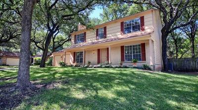 Austin Single Family Home For Sale: 11316 Alhambra Dr
