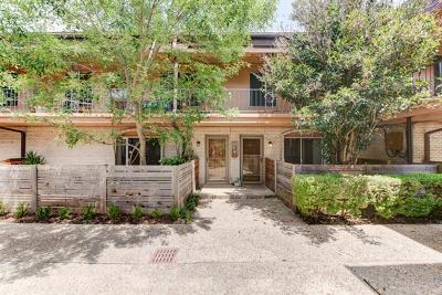 Austin Condo/Townhouse For Sale: 7801 Shoal Creek Blvd #247