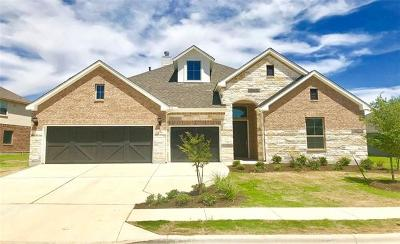Leander Single Family Home For Sale: 1729 Hollowback Dr