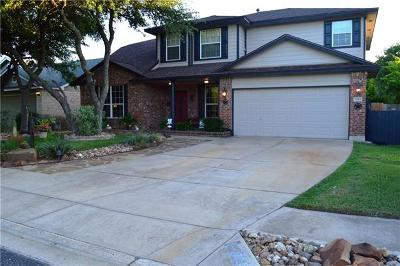 Leander Single Family Home For Sale: 3315 Napa Valley Bnd