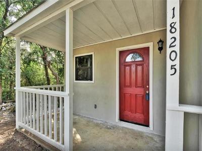 Jonestown Single Family Home Pending - Taking Backups: 18205 Ledge St