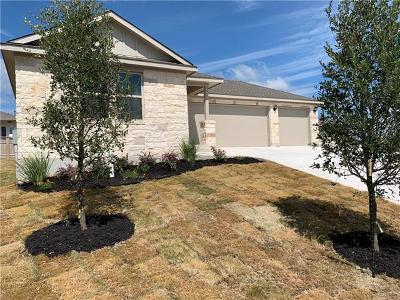 Hutto Single Family Home For Sale: 105 Foxroll Cv