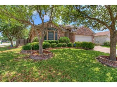 Pflugerville Single Family Home For Sale: 1622 Balmorhea Ln