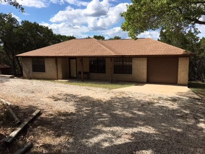 Lago Vista Single Family Home For Sale: 18010 Fisherman's Way Rd