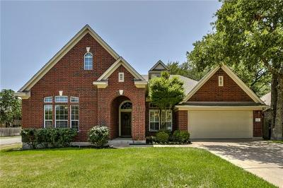 Cedar Park Single Family Home For Sale: 1706 Buttercup Creek Blvd