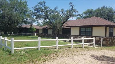 Burnet County Single Family Home For Sale: 111 Midnight Sun Dr