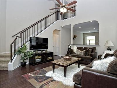 Round Rock Single Family Home Pending - Taking Backups: 893 Heritage Springs Trl