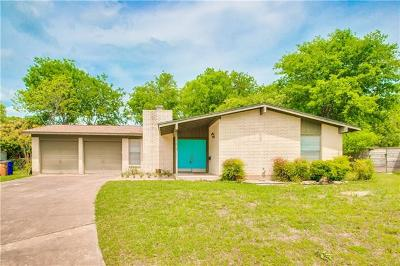 Austin Rental For Rent: 3102 Candlelight Ct