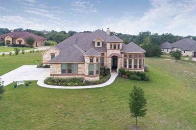 Driftwood Single Family Home For Sale: 124 Bonnet Meadow Cv