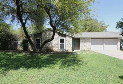Round Rock Single Family Home Pending - Taking Backups: 1404 Oak Meadows Cv