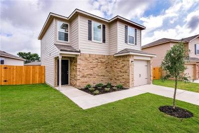 Jarrell TX Single Family Home For Sale: $175,900