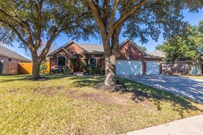 Round Rock Single Family Home For Sale: 8404 Fern Bluff Ave