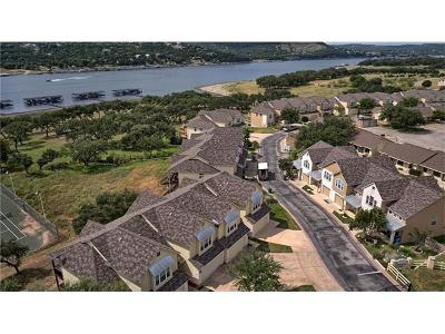 Lago Vista Condo/Townhouse For Sale: 20907 Waterside Dr #8