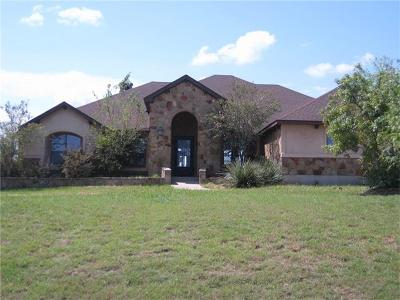 Hutto Single Family Home For Sale: 127 Comanche Cir