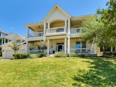 Austin Single Family Home Active Contingent: 5901 Down Valley Ct