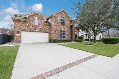 Round Rock Single Family Home For Sale: 3005 Goldenoak Cir