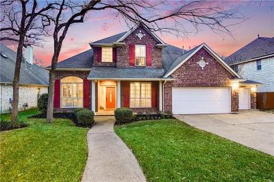 Round Rock Single Family Home For Sale: 2505 Resnick Dr