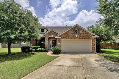Round Rock Single Family Home For Sale: 2717 Blackstone Cv