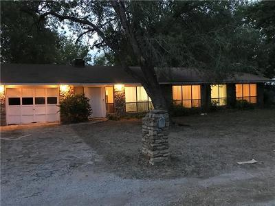 Marble Falls Single Family Home Pending - Taking Backups: 1111 Mulberry Dr
