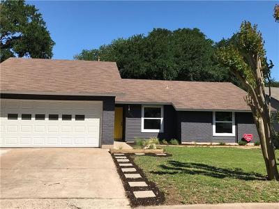 Austin Single Family Home For Sale: 10022 Woodland Village Dr E