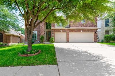 Round Rock Single Family Home For Sale: 3916 Blue Monster Cv