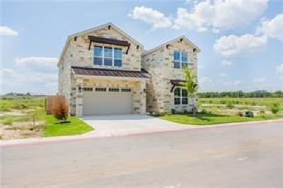 Travis County, Williamson County Single Family Home For Sale: 3750 E Palm Valley Blvd #1110