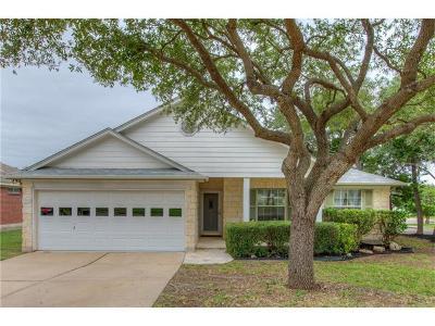 Cedar Park Single Family Home For Sale: 1501 Woodstone