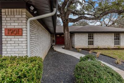 Round Rock Single Family Home For Sale: 1901 Deep Wood Dr