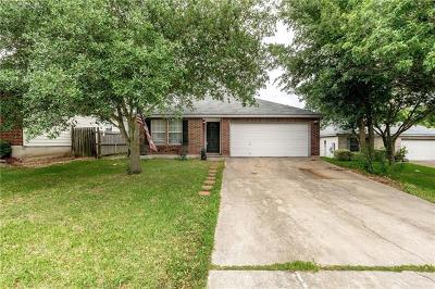 San Marcos Single Family Home Pending - Taking Backups: 1108 Overlook Way