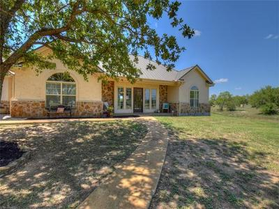 Marble Falls Single Family Home For Sale: 232 Cr 144a