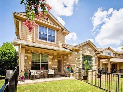 Round Rock Condo/Townhouse For Sale: 16100 S Great Oaks Dr #3002