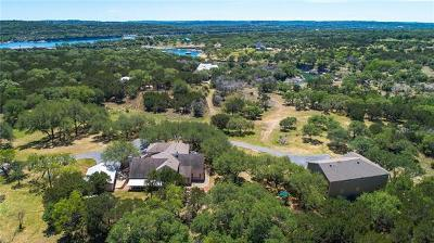 Marble Falls Single Family Home For Sale: 23705 Paradise Cv