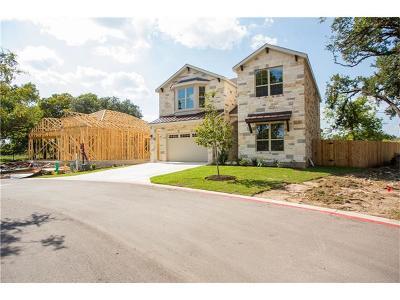 Round Rock Condo/Townhouse For Sale: 4012 Eleanor Cir #205