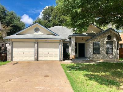 Single Family Home For Sale: 2214 Logan Dr