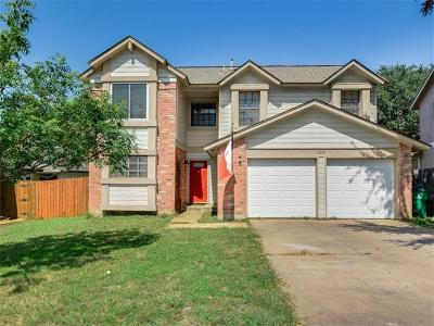 Travis County Single Family Home For Sale: 2315 Waterway Bnd