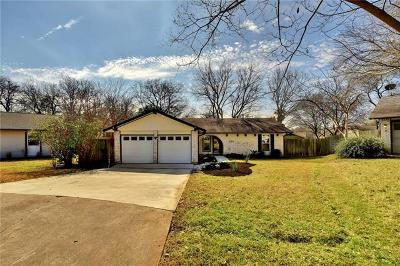 Hays County, Travis County, Williamson County Single Family Home Pending - Taking Backups: 2209 Stone River Dr
